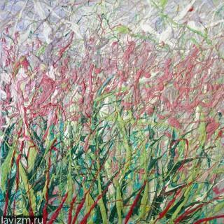Розовые полевые цветы Иван-Чай