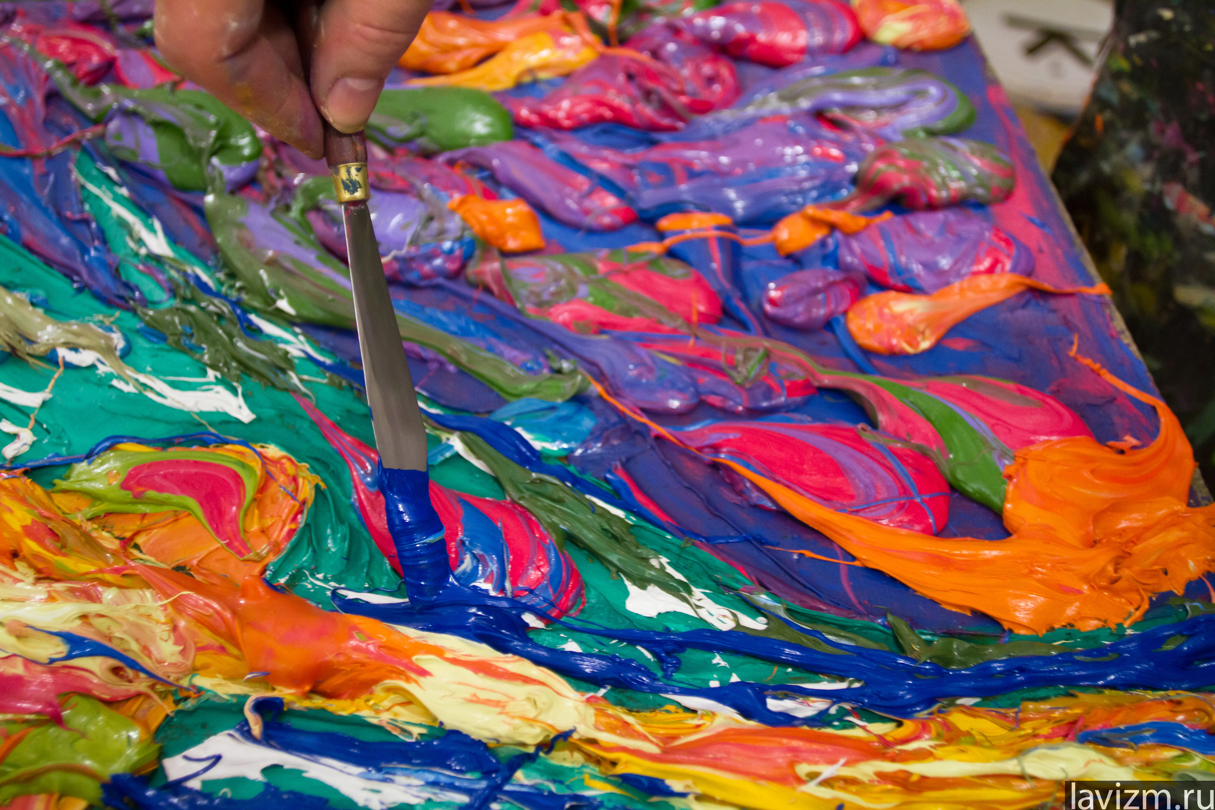 Как фото сделать нарисованным масляными красками